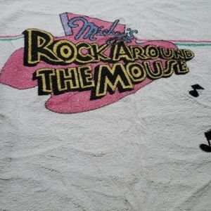 Vintage Disney Mickey's Rock Around the Mouse Towe